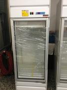 立式單門玻璃冰箱
