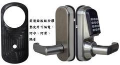 密碼+悠遊卡感應+機械鑰匙 三種開門方式