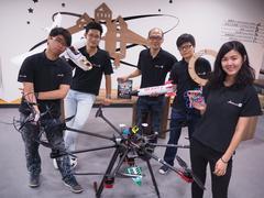 無人機飛控系統整合及相關教材研發製造等