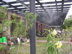炎夏降溫-歐樂微霧降溫系統