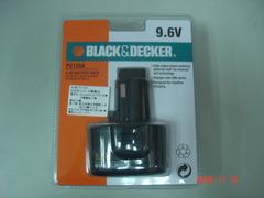 BLACK & DECKER 百得 充電電池(9.6V)適用於B&D品牌的工具