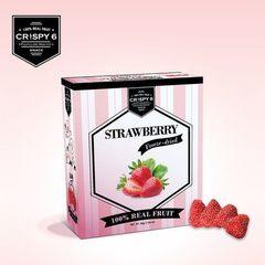 Crispy6旅行者六號英國皇室時尚果乾-草莓