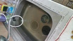 通水管-土城區廚房排水管阻塞-流理台排水管不通