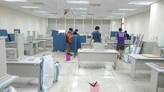 廠房拆除辦公家具拆除回收2.5屏風回收