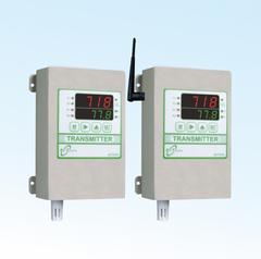 LED雙顯示三機一體型CO2+溫溼度偵測傳送器