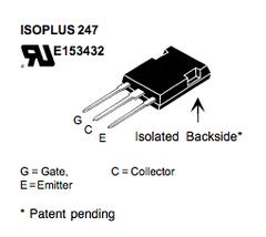 IXGR35N120B, 電晶體, IGBT