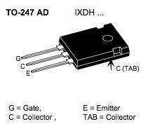 IXDH35N60B, 電晶體, IGBT