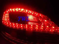 保時捷987 CAYMAN薰黑LED尾燈