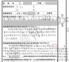 (新聞)書審資料+口試內幕 榜首.榜眼.金榜錄取心得..