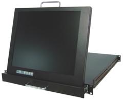 """1U 17"""" LCD 機架式液晶顯示器"""