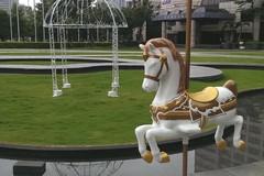 【★出租】單支裝飾木馬租用-婚禮木馬出租