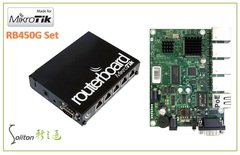 【MikroTik】RB450G 路由器