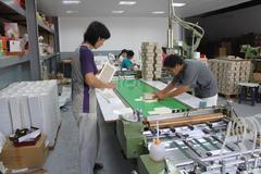 手工盒工廠設備,設計、印刷 一貫作業