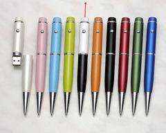 LPU-01   USB 充電雷射隨身碟筆