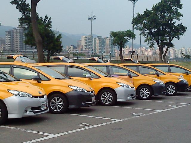 台灣旅遊自由行WISH計程車