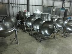 二重鍋 二從鍋 蒸氣炒菜鍋 蒸氣迴轉鍋 迴轉鍋