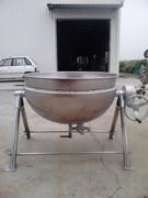 白鐵鍋 二重鍋 二從鍋 蒸氣鍋 大型鍋子 煮鍋