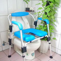 豪華舒適馬桶起身椅 頂級PU坐