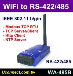 WiFi RS485-422傳輸,Modbus