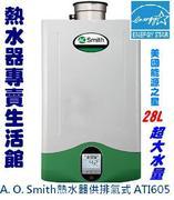 A. O. 史密斯燃氣熱水器ATI605
