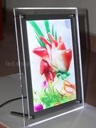led燈箱製作 水晶燈箱 A4 桌上型直立式