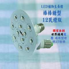 12瓦植物生長燈 種植用  白光 JNP003
