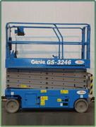 GENIE GS-3246 10M輪胎自走式高空作