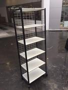 非凡二手家具 鐵製 2尺六層 置物架