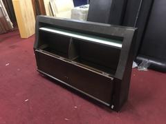 非凡二手家具 胡桃5尺 收納床頭箱1