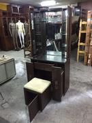 非凡二手家具 胡桃三尺多功能化妝台含椅