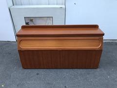 非凡二手家具 柚木色 雙人5尺收納 床頭箱4