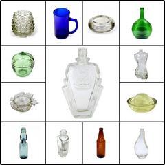 各類透明及有色玻璃容器