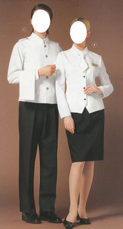 欧式风格.spa芳疗,医美制服. (找产品) 038聚惠-时尚典雅柜台制服.