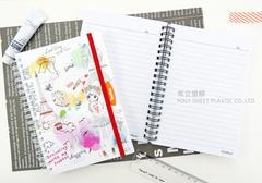 【常立塑膠】旋轉筆記本