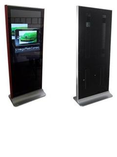 LED LCD 移動式廣告機
