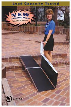 美國P.V.I.四摺可攜帶式斜坡板